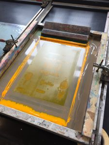 screen printing layers