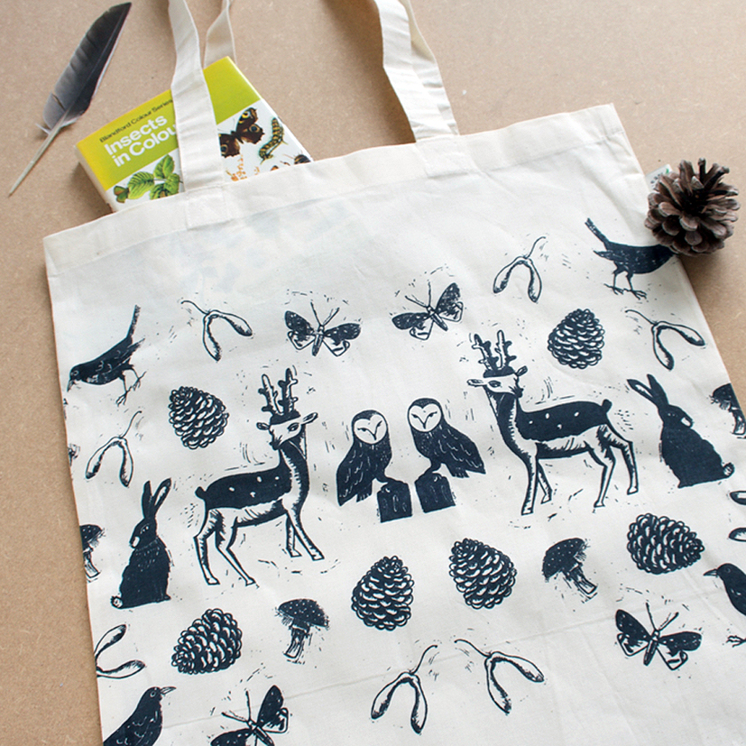 woodland tote