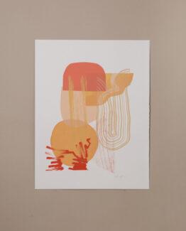 Lammas abstract folklore art print
