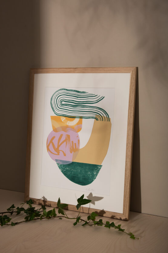 Yule abstract art