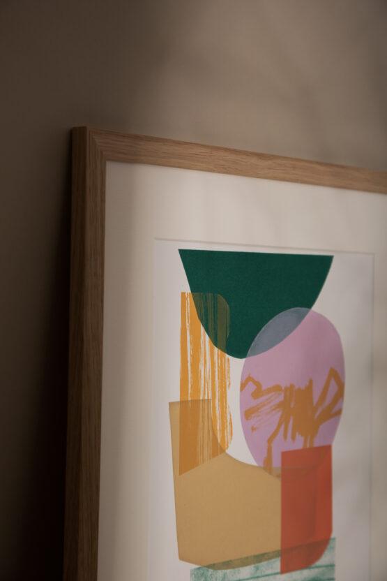 Yule contemporary print
